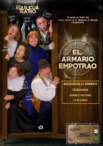 """""""El Armario Empotrado"""", obra de teatro en la Residencia Spa de Felechosa"""
