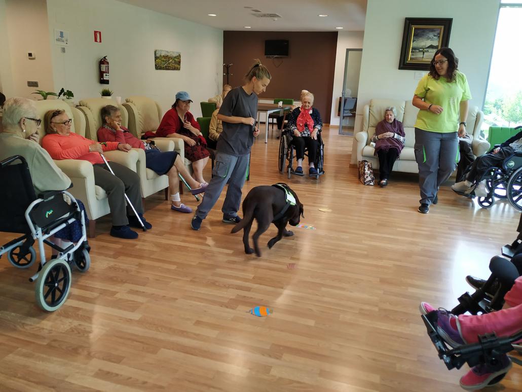 Canoterapia en la Residencia Spa de Felechosa