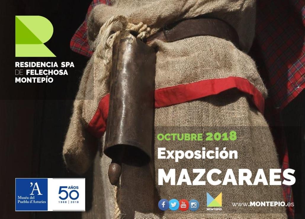 Exposición Mazcaraes en la Residencia Spa de Felechosa