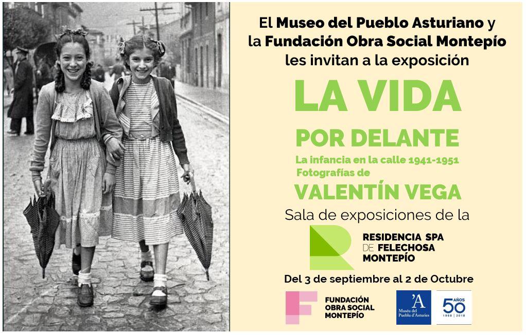"""Exposición fotográfica """"La vida por delante"""" de Valentín Vega en la Residencia Spa de Felechosa"""