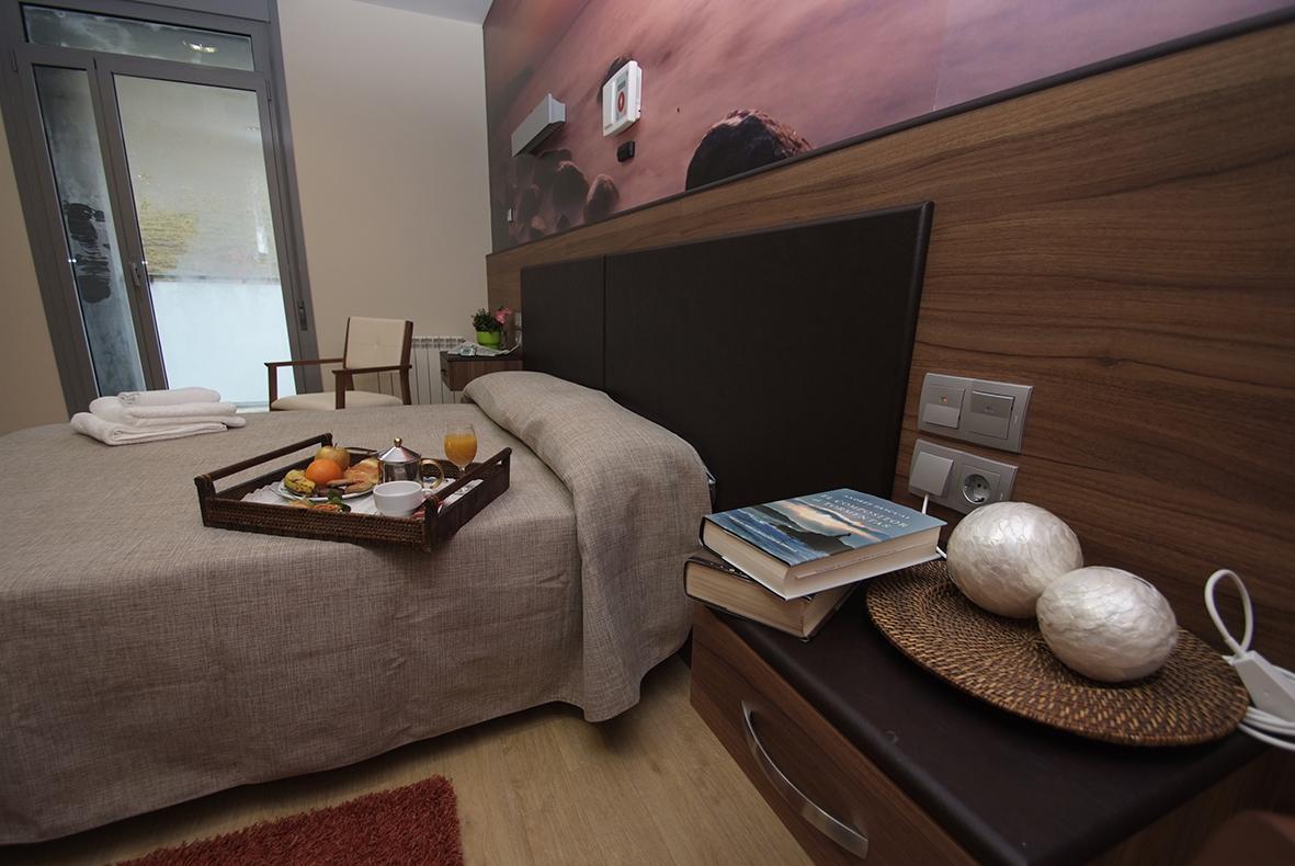 Habitación de la Residencia Spa de Felechosa