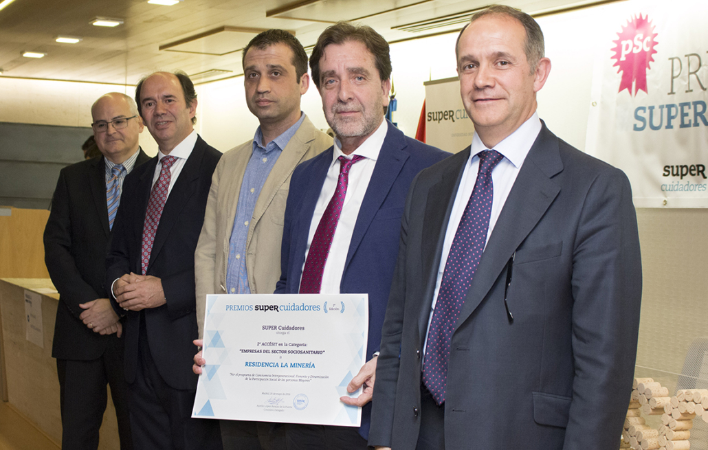 Segundo accésit para la Residencia Spa de Felechosa e los Premios Super Cuidadores